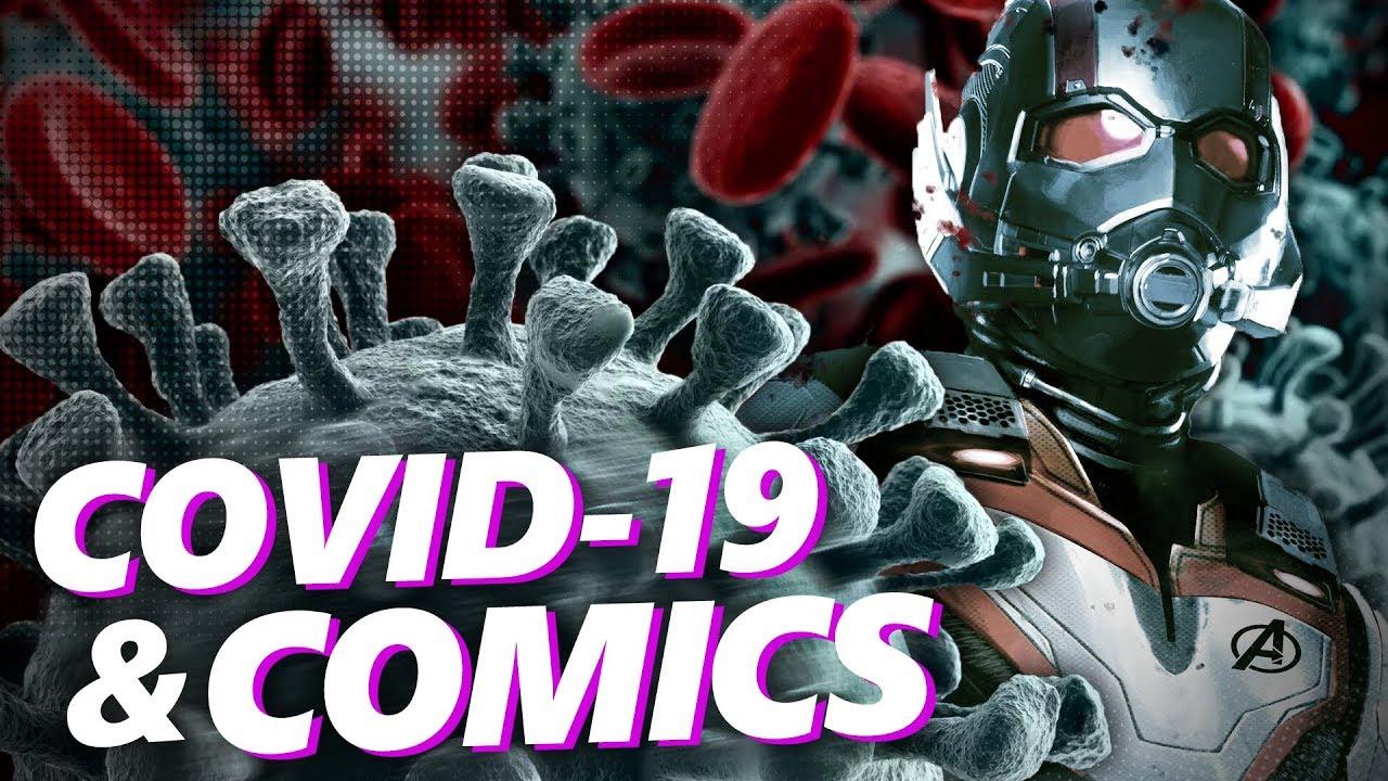 Covid 19 and Comics