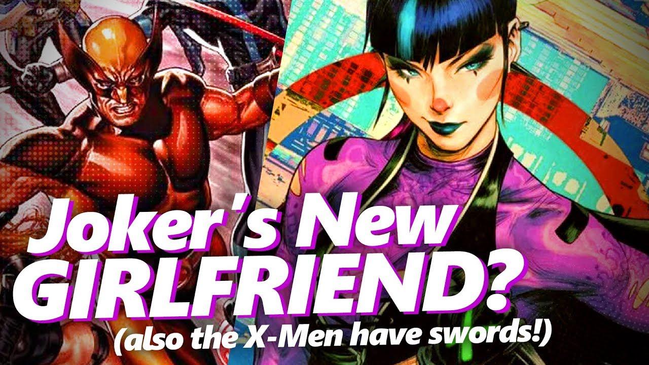 Joker's new girlfriend Punchline, Absolute Comics