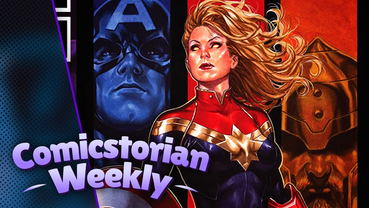 Captain America and Captain Marvel, Comicstorian Weekly