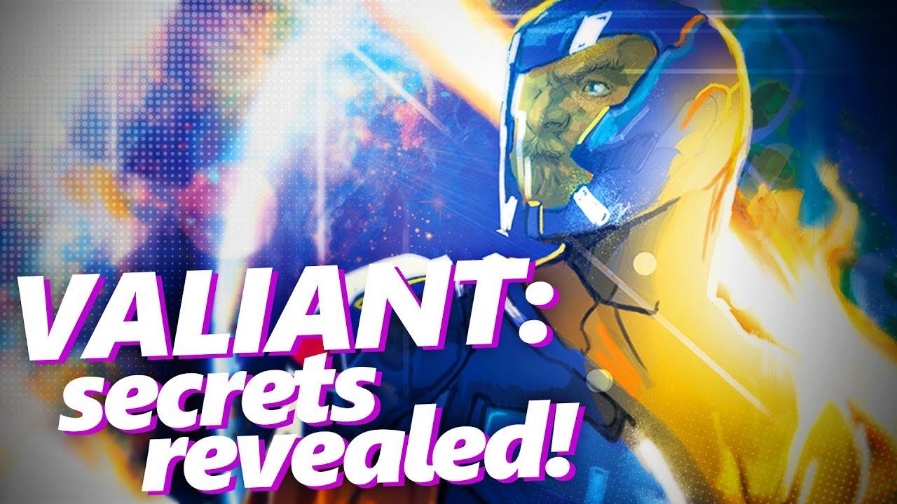 Valiant Comics secrets revealed