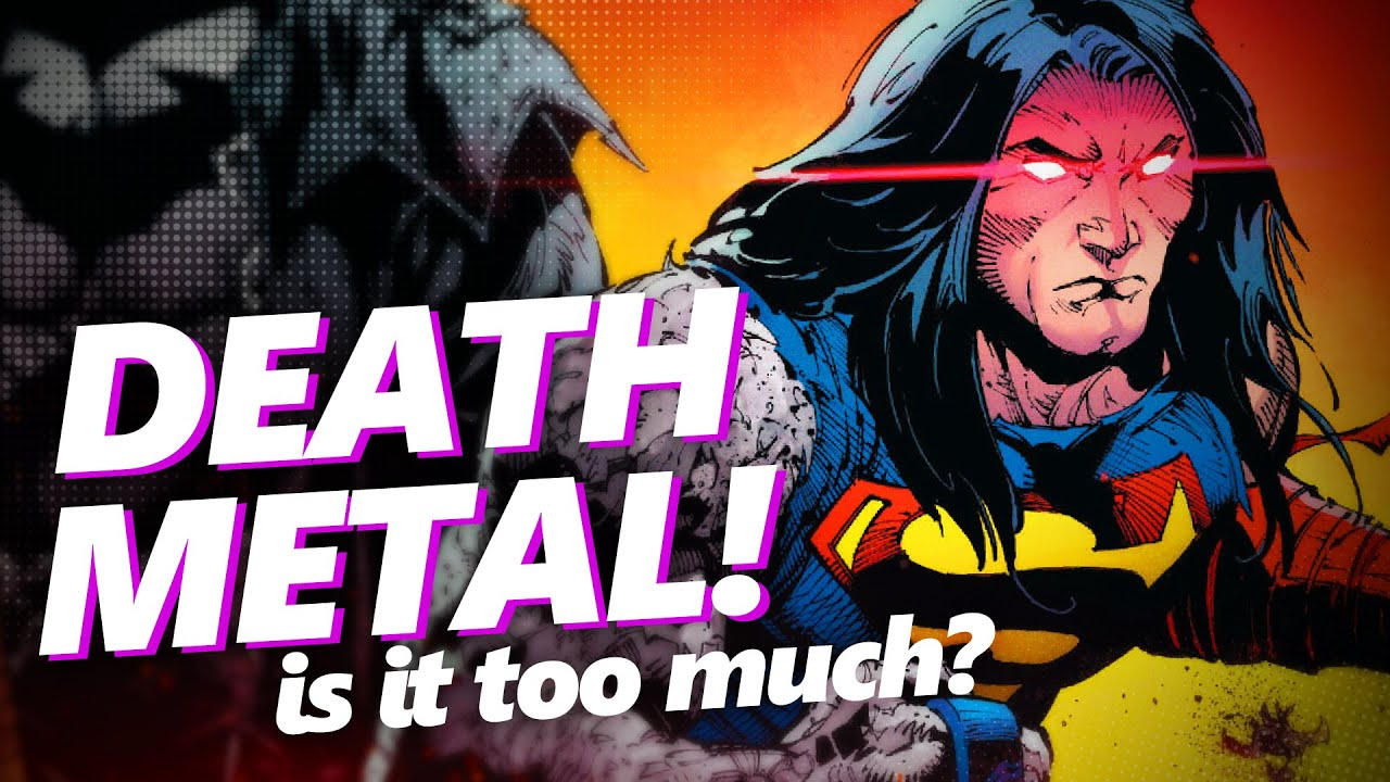 Superman as depicted in DC's Death Metal