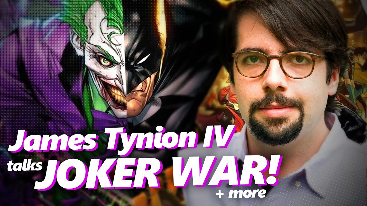 James Tynion the IV talks Joker War